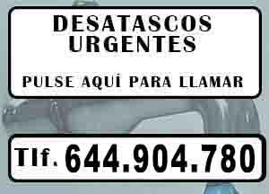 Desatascos urgentes Yecla Urgentes